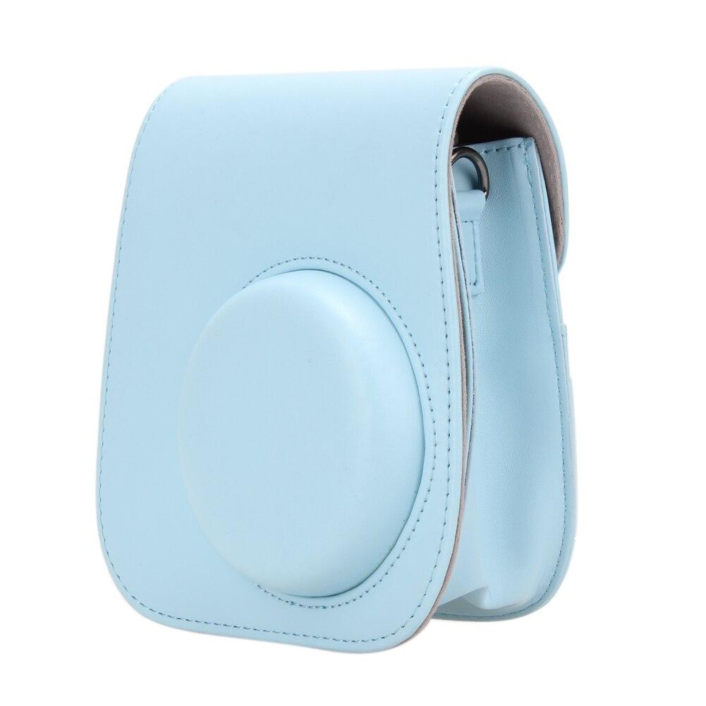 Fashion Style PU Leather Camera Strap Bag Case Cover Pouch Protector For Polaroid Photo Camera For Fuji Fujifilm Instax Mini 8