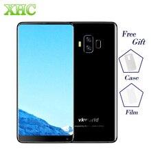 4 г vkworld S8 16mp + 13MP камеры Мобильные телефоны отпечатков пальцев 5500 мАч 5.99 дюймов полный Экран Android 7.0 mtk6750t 4 ГБ + 64 ГБ смартфон