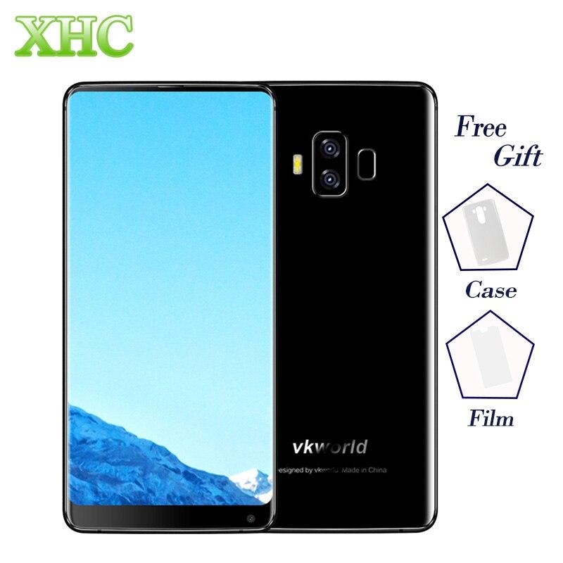 4G VKworld S8 16MP + 13MP Kameras Handys Fingerprint 5500 mAh 5,99 zoll Full Screen Android 7.0 MTK6750T 4 GB + 64 GB Smartphone