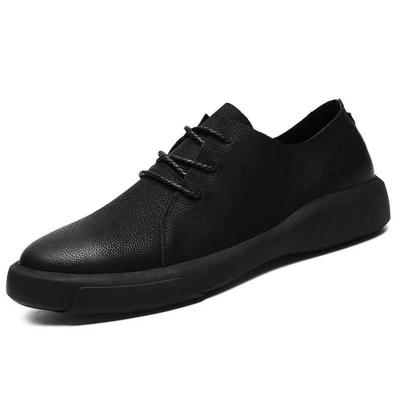 Удобные мужские Ботинки martin; Мужская обувь из спилка; качественные повседневные мужские кожаные лоферы на шнуровке; мягкие мужские мокасины на плоской подошве