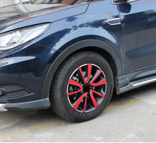 for dongfeng DFSK 580 (4 tires) Hub carbon fibre pattern Decoration sticker