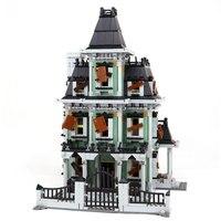 Neue LEPIN 16007 2141 Stücke Monster kämpfer Die spukhaus Modell set legoinglys Bausätze Modell Kompatibel Mit 10228 Geschenke