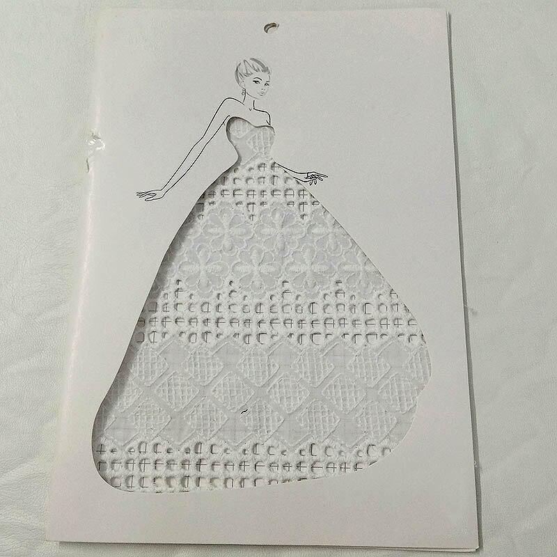 1 yard guipure dentelle blanc diamant maille dentelle tissu couture suisse garniture de mariage dentelle fait main bricolage vêtements accessoires A2