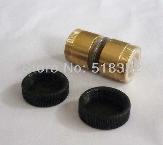 Xieye 126 Guide Wheel Assembly with Brass Sleeve/ Seat and NMB Bearings dia.32mmxL58mm for Wire Cut EDM Parts