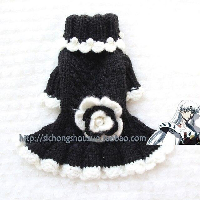 Christmas Luxury Hand woven Dog/Cat Sweater Puppy/Kitty Woolen Warm ...