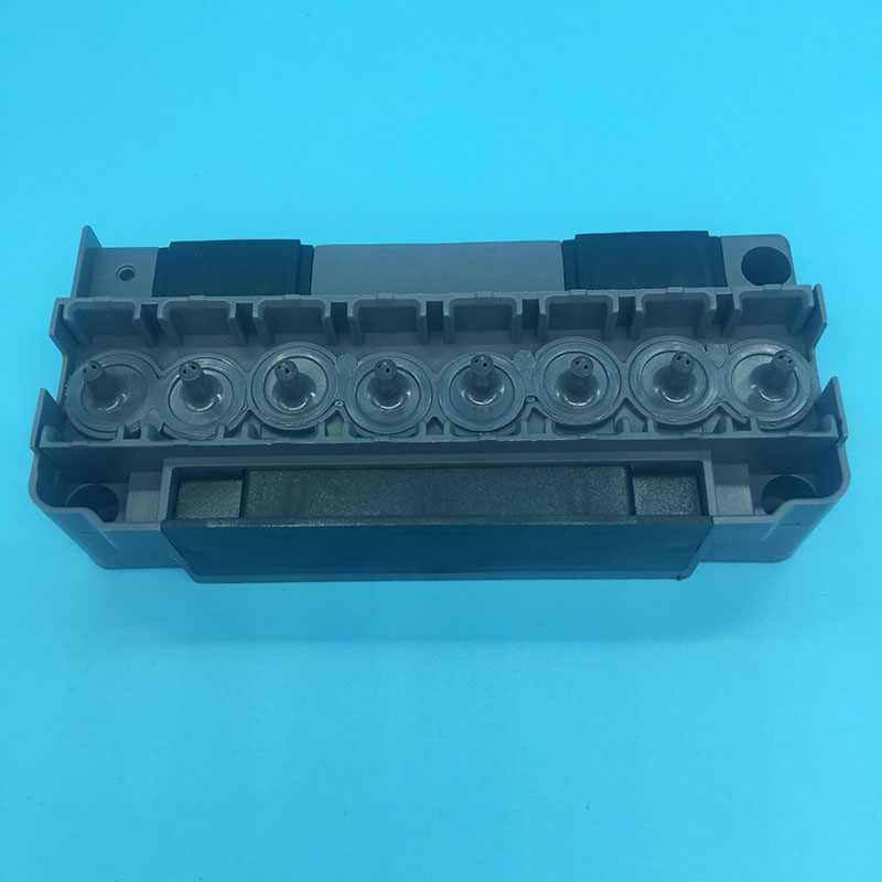 DX5 Printhead Pelarut Manifold Mutoh Mimaki Allwin Eco Solvent Plotter Printer DX5 Pelarut Adaptor F186000 DX5 Printhead Cover