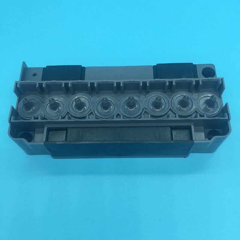 DX5 colector solvente da cabeça de impressão Mutoh Mimaki plotter eco solvente Allwin impressora solvente DX5 adaptador F186000 DX5 tampa do cabeçote de impressão