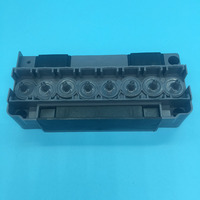 DX5 printhead solvent manifold Mutoh Mimaki Allwin eco solvent plotter printer DX5 solvent adapter F186000 DX5 printhead cover