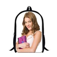 Violetta Print School Bag for Girls Violetta sac a dos Children Kids Backpack Schoolbag mochila feminina