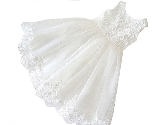 A-Line Flower Girls Dresses For Wedding Gowns White Lace Party Dress Holy Communion Dresses Baby Long Mother Daughter Dresses white flower girls dresses for wedding gowns a line baby girl clothes suitable first communion dresses for girls