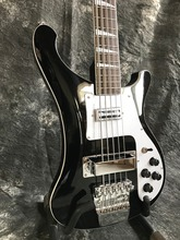 In stock Ricken-bucker electric bass guitar black color 4001 style