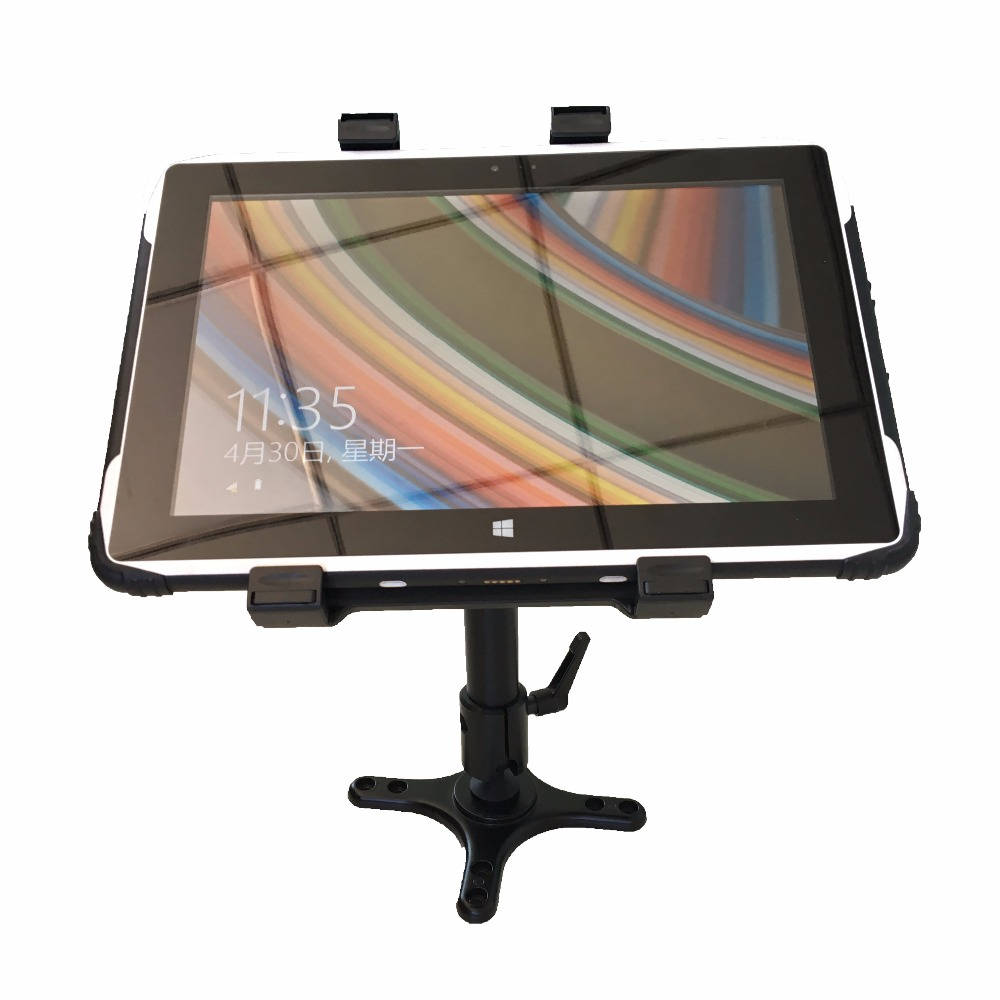 цена на Rugged Tablet Truck mounted holder for 5 inch 6inch 8 inch 10 inch 12 inch