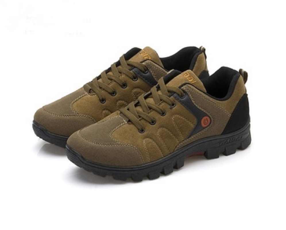Männer Arbeiten Schuhe 2018 Festen Boden Nicht-rutsch Verschleiß-beständig Reise Schuhe Outdoor Atmungsaktive Männer Schuhe Angeln turnschuhe
