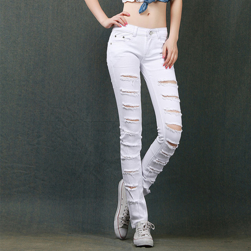 Aliexpress.com : Buy New 100% cotton women's pants jeans women ...