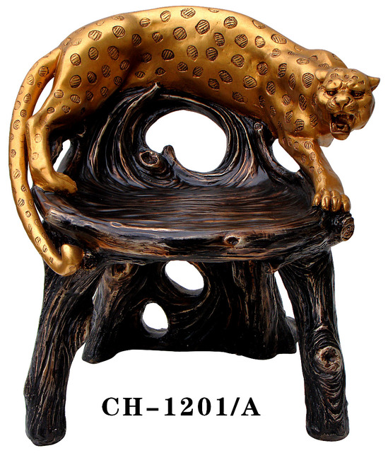 European art furniture. Money leopard. Ou shigu. Tea table