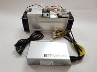 Используется AntMiner S9 14 т Bitcoin Miner с Bitmain APW3 + + 1600 Вт PSU Asic BTC МПБ Шахтер лучше, чем WhatsMiner M3 S9 13,5 т T9 + V9