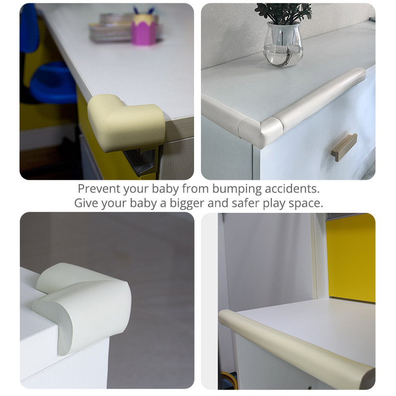 4pcs Baby Safety Silicone Protector Table Corner Edge Protection Cover Children Anticollision Edge Child Corner Guards