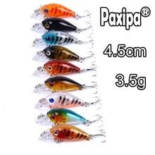 56pcs Mixed Fishing Lures Minnow Crankbaits Bass Baits Wobblers Set Lifelike Fake Fishing bait Tackle  Drop shipping