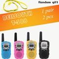 Т-388 Мини Walkie Talkie UHF 462.550-467.7125 МГц 0.5 Вт 22CH Для Kid Дети ЖК-Дисплей A0762Z 2 шт./компл.