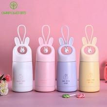 Creative Child Thermal Bottle Cute Cartoon Thermos 300ml Insulated Vacuum Flasks Children Women Travel Water Mugs