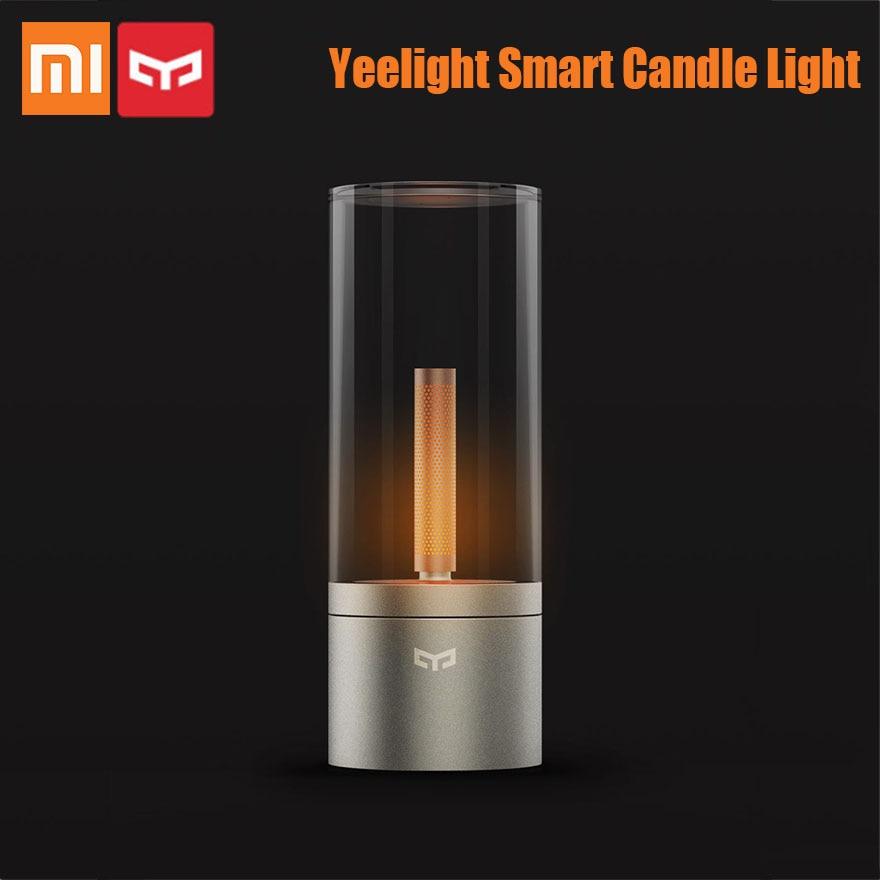 Xiaomi Yeelight Candela Light Romantic Smart Control Led Night Dinner Birthday Gift For Girl App Candle