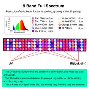 Image 2 - Светодиодная промышленная лампа полного спектра Venesun 100 Вт, панельные лампы для выращивания растений, алюминиевые лампы для внутренних теплиц, фотолампы/овощи/цветение