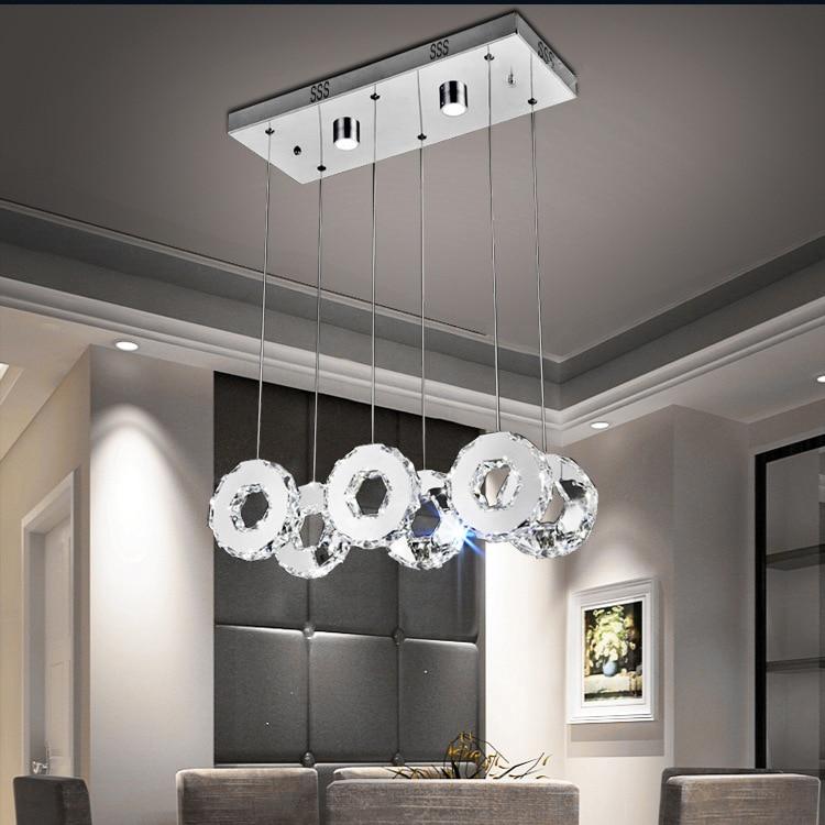 Youlaike Moderne LED Kronleuchter Für Esszimmer Rechteck Küche Insel ...