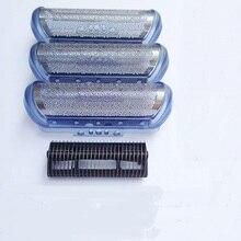 1 Shaver Cutter& 2x20S Foil For BRAUN 2000 Series CruZer1 2 3 20s z20 z30 2615 2775 2776 2874 2876 190 Razor Mesh