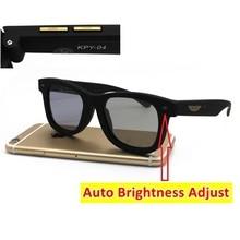 Automatic Adjust LCD Sunglasses Original Design Electronic Liquid Crystal Lenses Brightness Darkness Adjustable Driving Outdoors