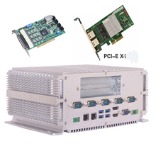 All in one intel CPU I7 3610M Fanless embedded industrial BOX PC support wifi