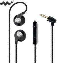 Komórkowy słuchawka do iPhonea 6 6 S 5S słuchawki z mikrofonem 3.5mm Jack basowy zestaw słuchawkowy dla iphone 4 5 6 Xiaomi Sony sportowe słuchawki douszne