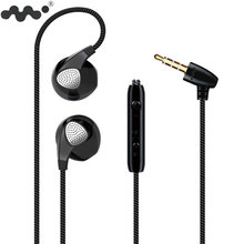 Moblie Earphone For iPhone 6 6S 5S Earphones With Microphone 3.5mm Jack Bass Headset For iphone 4 5 6 Xiaomi Sony Sport Earbuds