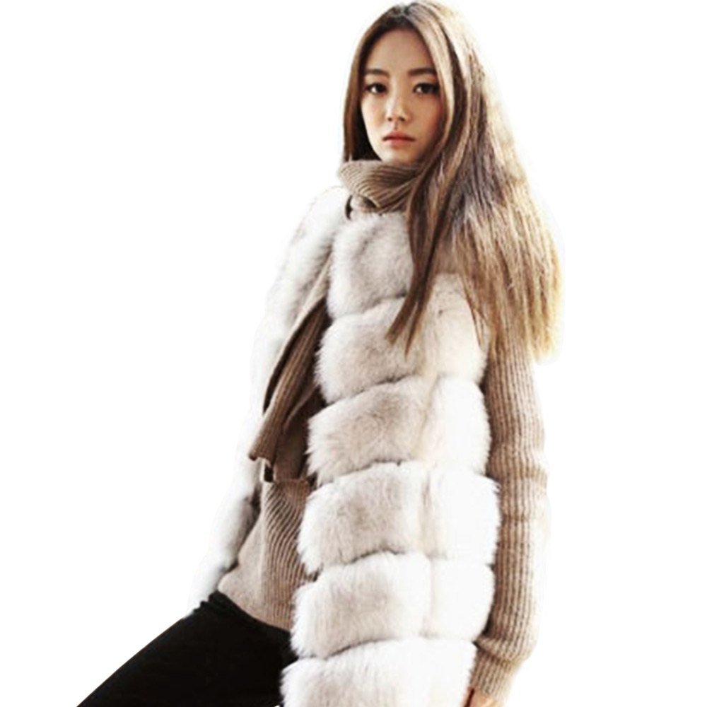 Fur Womens Us 61 65 Aliexpress Buy Kenancy Winter Women Coat Fur Vest Thick Warm High Grade Faux Fur Coat Fox Fur Long Vest Red Plus Size 2xl Female