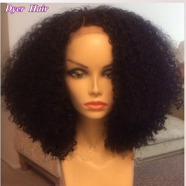 Cheap 6a Afro kinky curly hair wigs c8ed50101