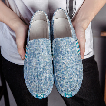 2019 New Spring Men Suede Leather Loafers Driving Shoes Moccasins Summer Fashion Men's Casual Shoes Flat Breathable Lazy Flats 1