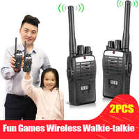2pcs Electronic Interphones Ear Game Walkie Talkie Interphone Intercom Children Kid Toys 88 88 S7JN