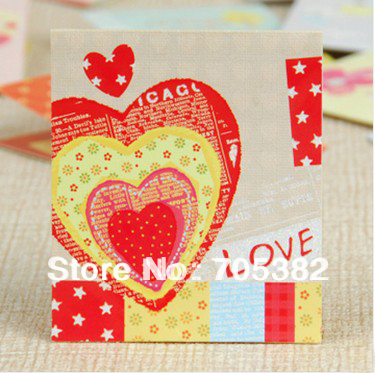1PC/lot Size:7x8.5cm NEW 3D mini greeting cards with envelope, Handmade 3D card,gift card for kids wholesale(SS-753-1)