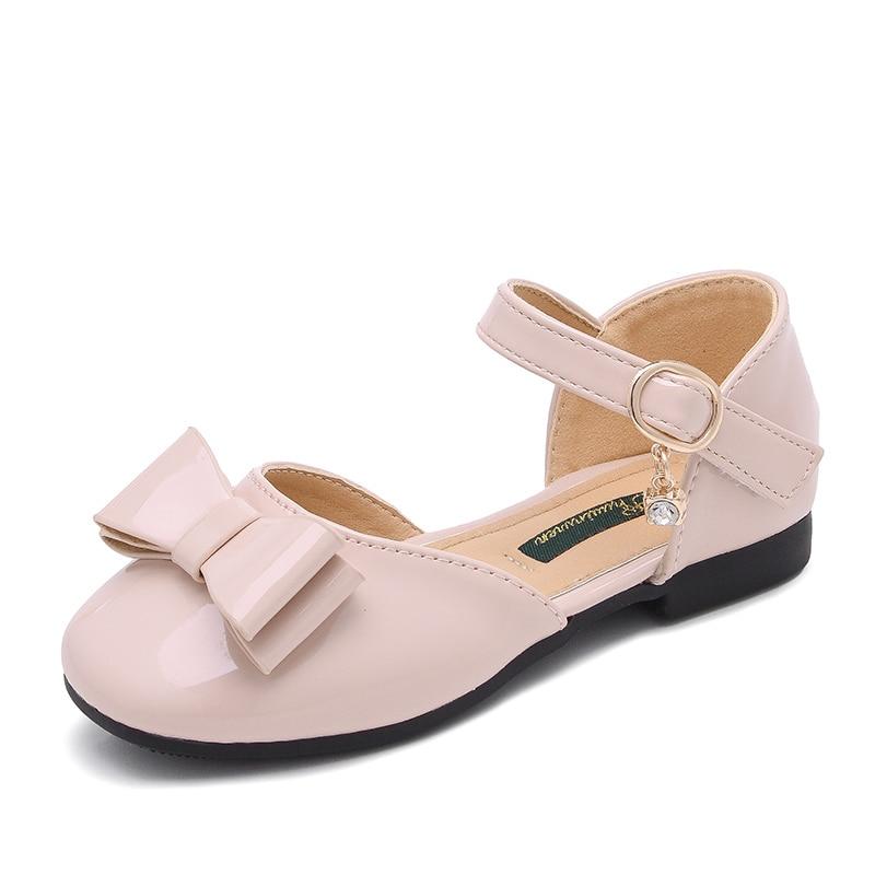 2018 Summer New Children Girls Kids Shoes Soft Bottom Child Princess Bow Baotou Girl Sandals