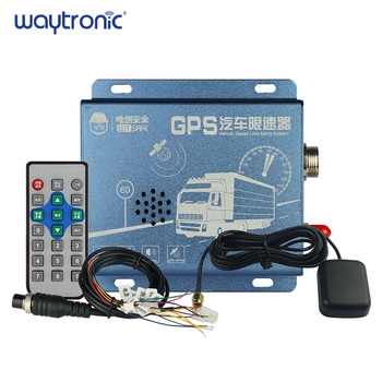 GPS Vehicle Car Bus Truck Speed Limiter Overspeed Alarm System with LED Display GPS Speed Detection Reverse Turn Alarm