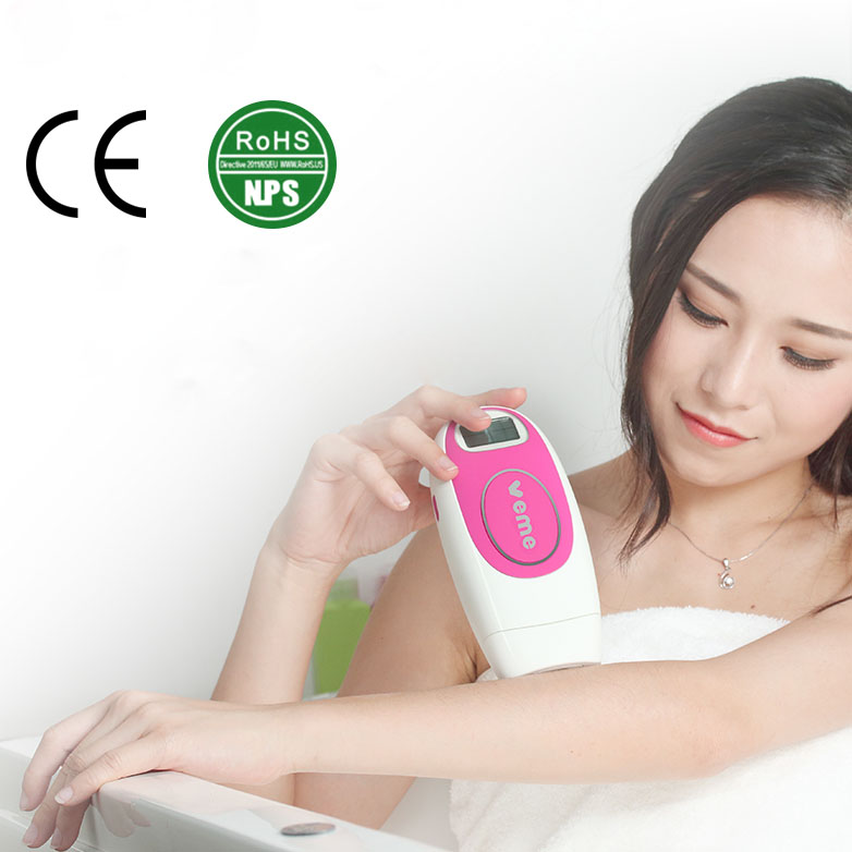 New Generation 300000 Pulses IPL System Face Bikini  Whole Body Permanent IPL Epilateur Laser Home Laser Hair Removal Device newest light based ipl hair removal system face and full body permanent hair removal device for face care tool