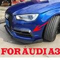 A3 carbon fiber front bumper trims decoration Fender for Audi A3 Sportback 2015 UP car styling
