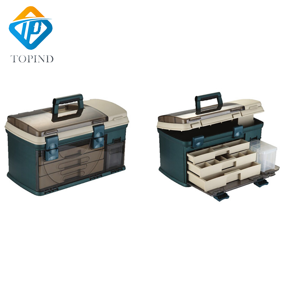 550*300*300mm PP+PC+TPE Big Fishing Tackle Box High Quality TPE Handle Fishing Box Carp Fishing Tools Fishing Accessories