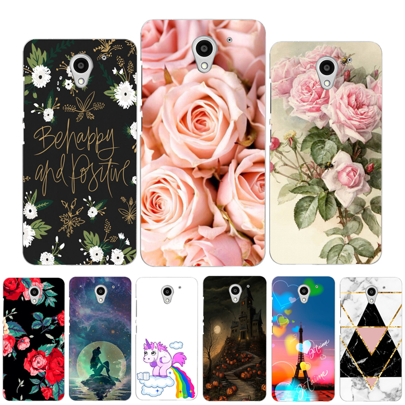 Soft Silicon ZTE Blade A510 Case Cover TPU ZTE A510 Case Painted Phone Back Protective Case FOR ZTE Blade A510 BA510