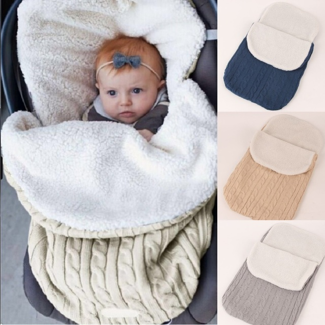 3f55093c43ad Wool Crochet Newborn Sleepsacks Baby Receiving Blankets Baby Boy ...