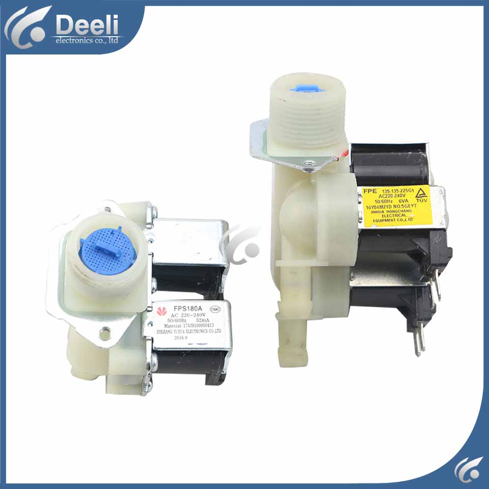 1pcs for Universal washing machine water inlet valve solenoid valve XFPS180A FPS180A good working household wc toilet closestool water tank inlet solenoid valve