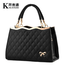 Female bag 2019 new han edition bowknot ladies fashion female worn one shoulder