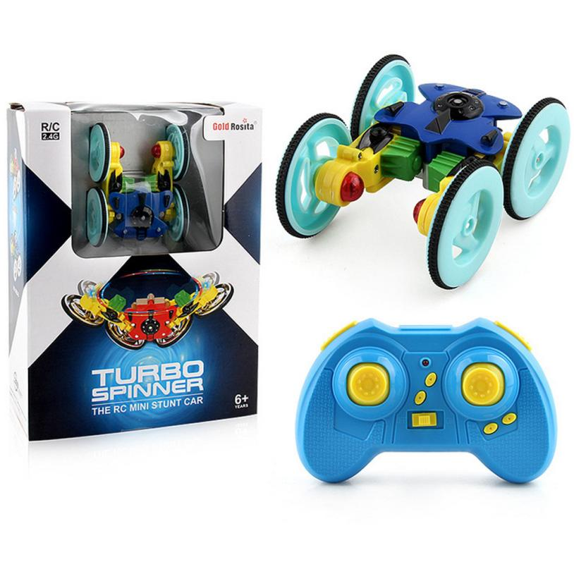 Low Price Loss Sale New 2.4G Mini 360Spinning Stunt Car And Flips With Color Flash Remote Control Truck Stress Relief