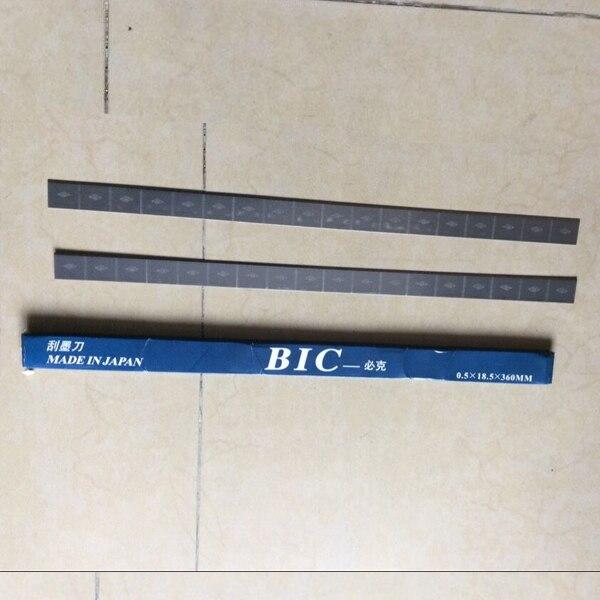 pad printing doctor blade,pad print doctor blade for sale 1 box/ 10 piece blade 1 enemies reissue
