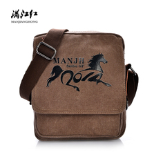 купить Fashion Printed Women Men Messenger Bags Canvas Small Crossbody Bags For Women Casual Male Female Satchel Shoulder Bag 1220 дешево