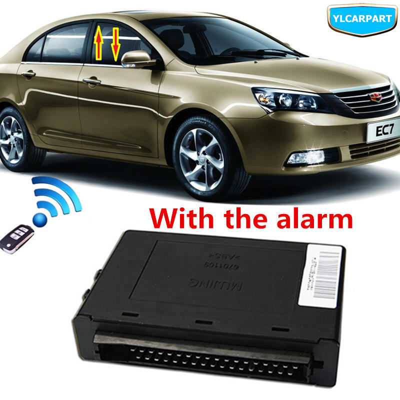 For Geely Emgrand 7 EC7 EC715 EC718 Emgrand7 E7,EC7-EV,Car Window Controller With Alarm